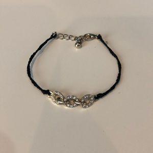 Jewelry - Gold, black diamond bracelet
